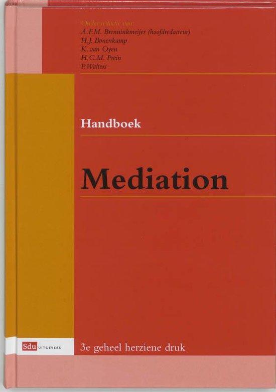 Handboek Mediation - A.F.M. Brenninkmeijer |