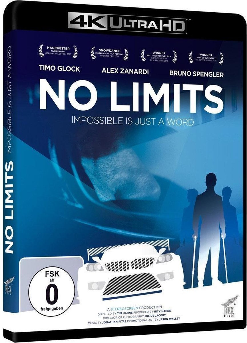 No Limits - Impossible is just a word (Ultra HD Blu-ray)-
