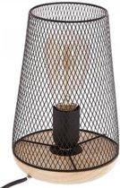 Tafellamp Metaal Hout