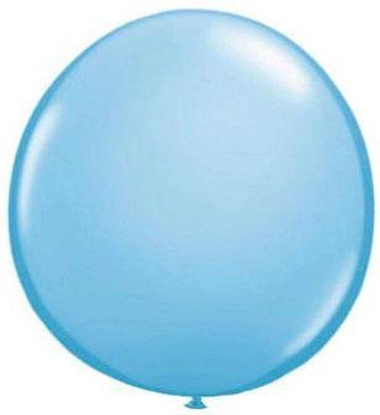 Qualatex ballon 90 cm licht blauw