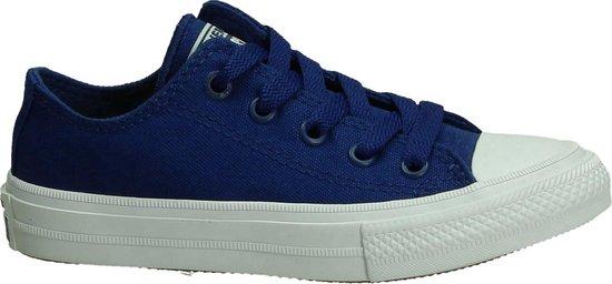 Converse Meisjes Sneakers Ctas Ii Ox - Blauw - Maat 34