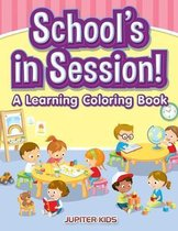 School's in Session! A Learning Coloring Book