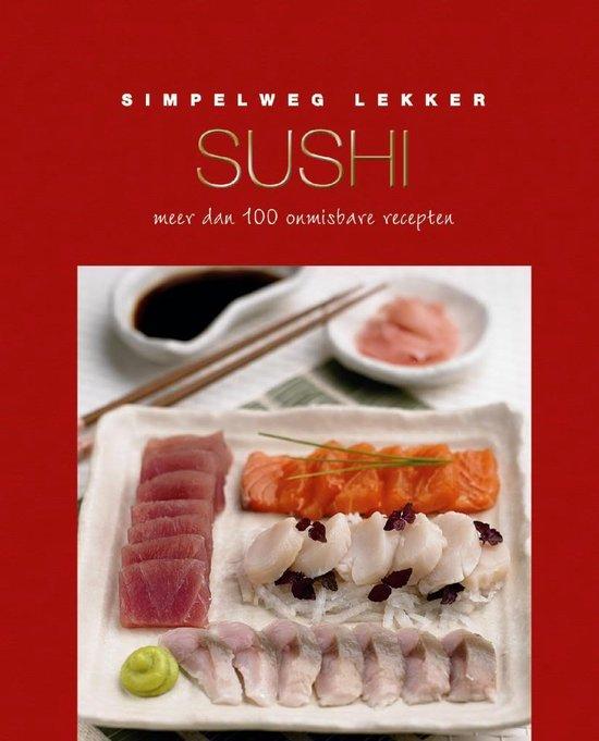 Simpelweg lekker, sushi