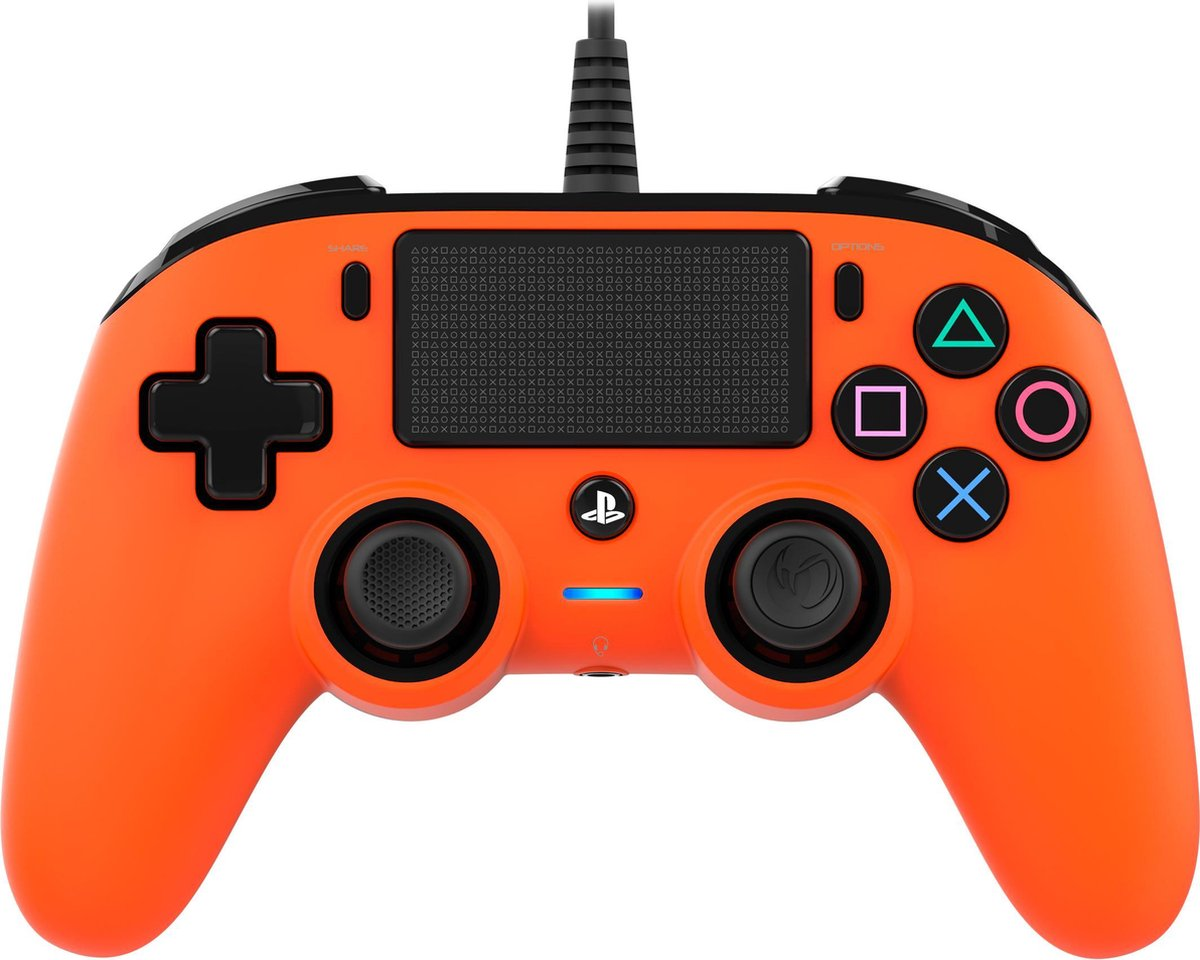 Nacon Compact Official Licensed Bedrade Controller - PS4 - Oranje