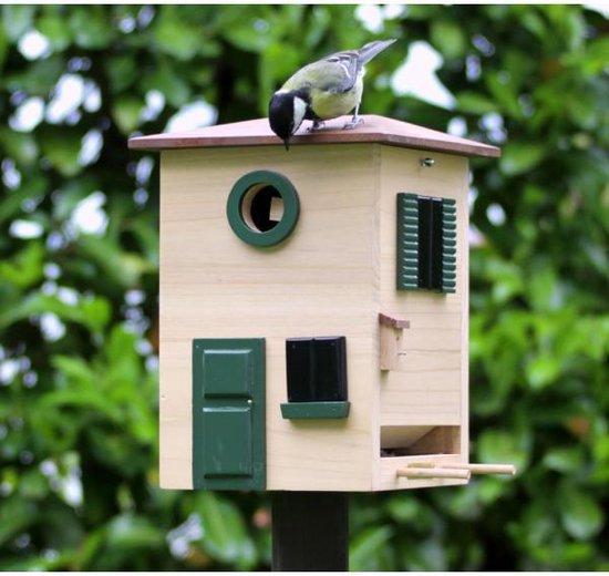Wildlife Garden Multiholk Vogelhuisje/voederhuis - WG116
