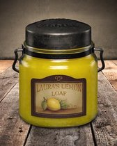 McCall's Candles Classic Jar Candle Laura's Lemon Loaf