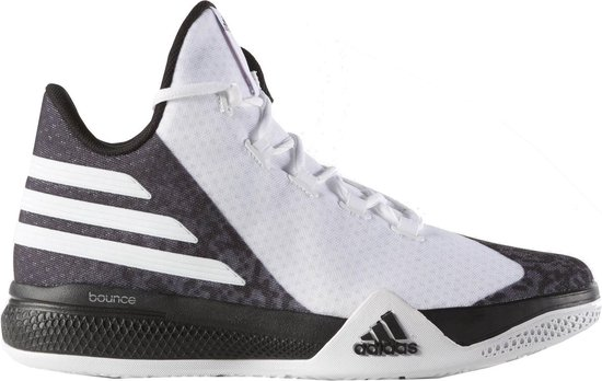 Adidas Basketbalschoenen Light Em Up Heren Zwart Mt 55 2/3