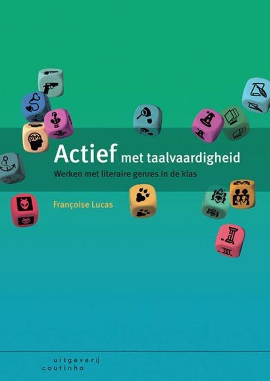 Boek cover Actief met taalvaardigheid van Francoise Lucas