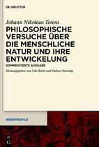 Philosophische Versuche uber die menschliche Natur und ihre Entwickelung