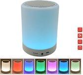 tafellamp candle met bluetooth speaker