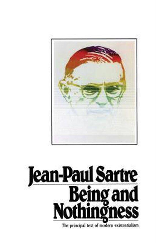 Boek cover Being and Nothingness van Jean-Paul Sartre (Paperback)