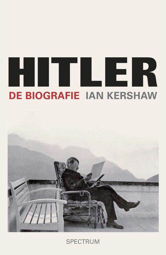 Boek cover Hitler - de biografie van Ian Kershaw (Onbekend)