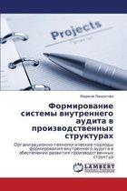 Formirovanie Sistemy Vnutrennego Audita V Proizvodstvennykh Strukturakh