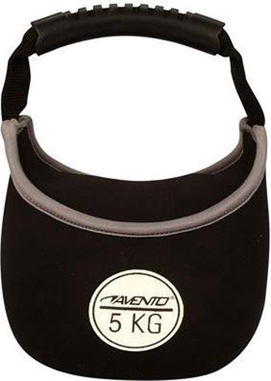Avento - Kettlebell - 5 kg - Zwart
