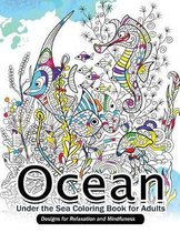 Ocean Under the Sea Coloring Book for Adults