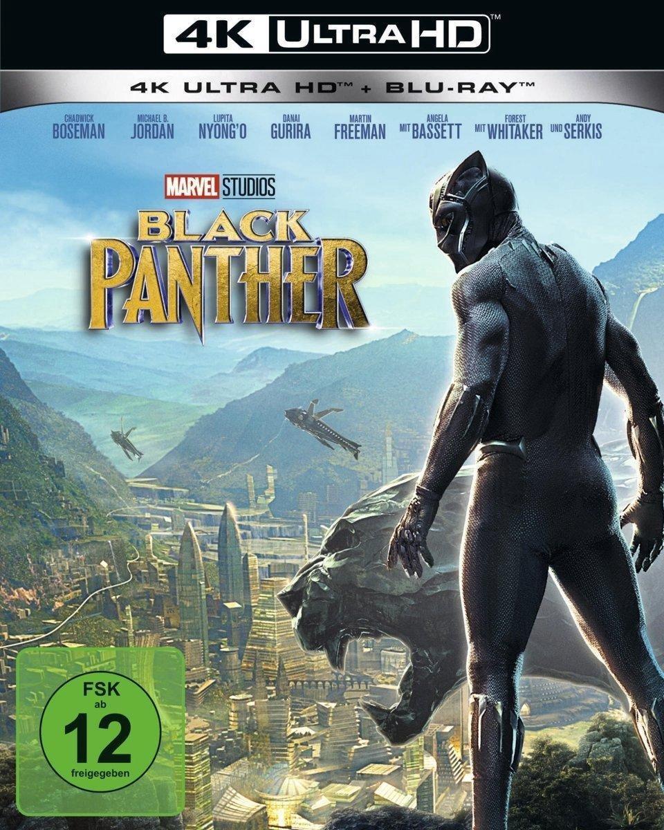 Black Panther (Ultra HD Blu-ray & Blu-ray)-