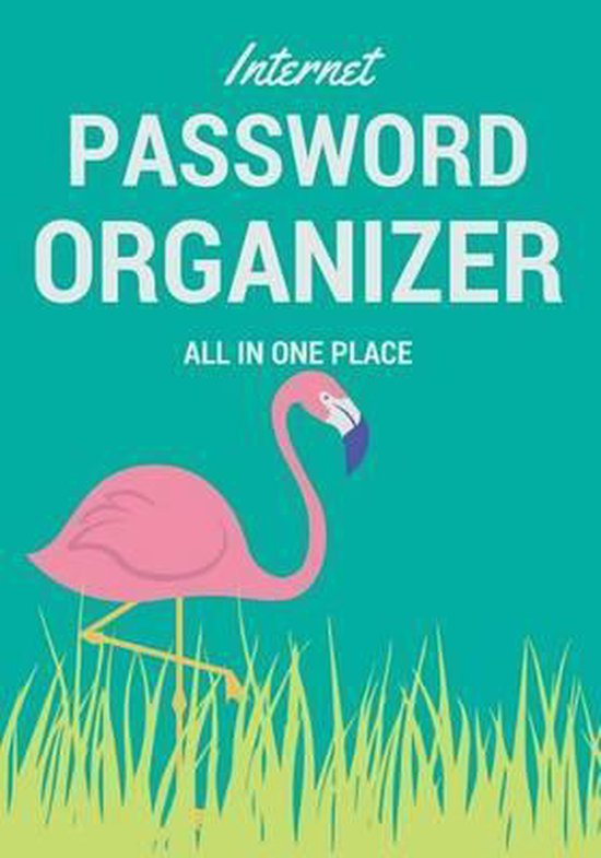 Internet Password Organizer All in One Place