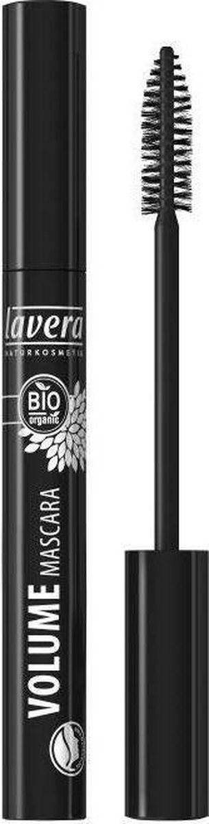 Lavera volume mascara black * 9 ml - Lavera