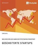 Gescheiterte Startups. Welchen Einfluss haben die Effectuation-Prinzipien?