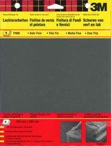 3M™ Schuurpapier Wetordry™, 9086CEEU, Zwart, P400, 4 vellen
