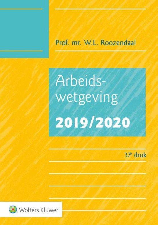 Afbeelding van Arbeidswetgeving 2019/2020