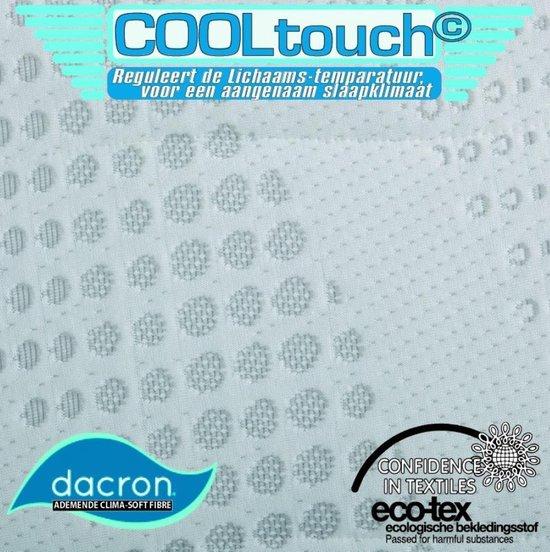 Cooltouch 90x200 koudschuimmatras – Luxe uitvoering - ACTIE - 100% veilig product