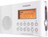 Sangean H201 - Doucheradio - Wit