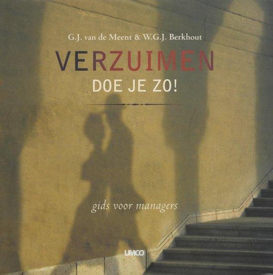 Verzuimen Doe Je Zo ! - G.J. Van Der Meent |