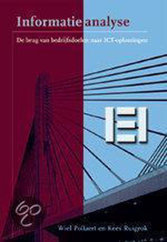 Informatieanalyse, De Brug Van Bedrijfsdoelen Naar Ict-Oplossingen - Wiel Pollaert |
