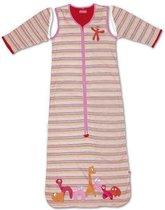 Little Company Solo Sleeper Stripe Babyslaapzak - 80 cm - Roze