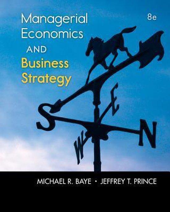 Boek cover Managerial Economics & Business Strategy van Michael Baye