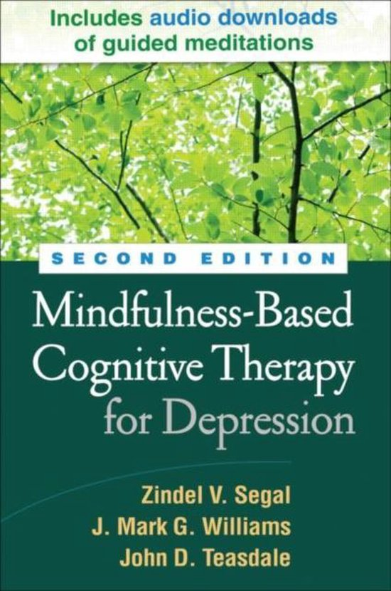 Afbeelding van Mindfulness-Based Cognitive Therapy for Depression, Second Edition