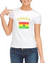 Ghana t-shirt dames L