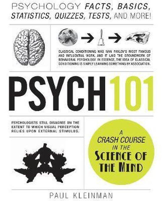 Boek cover Psych 101 van Paul Kleinman (Hardcover)