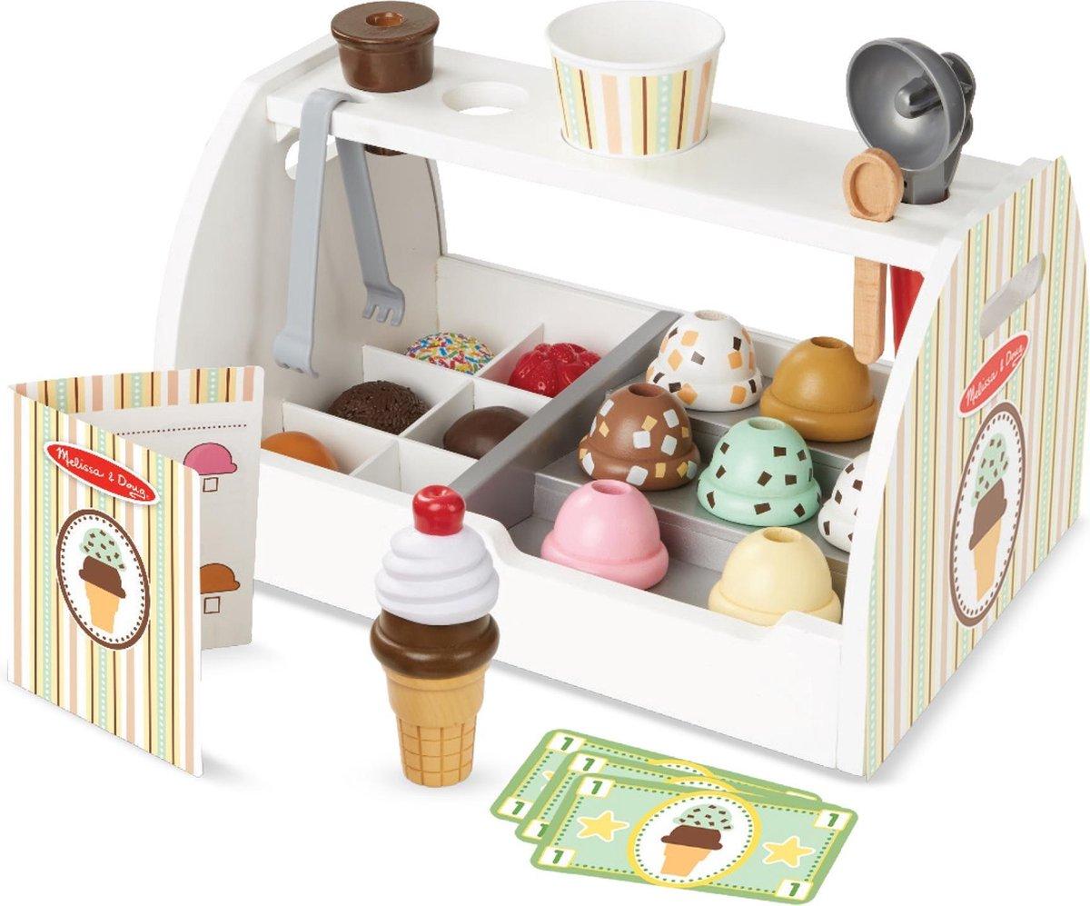 Houten speelgoed eten, voor keuken of kraam Het Houten