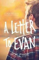 Omslag A Letter to Evan