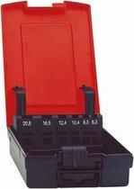 Kunststofcassette leeg 6,3-25,0mm FORMAT