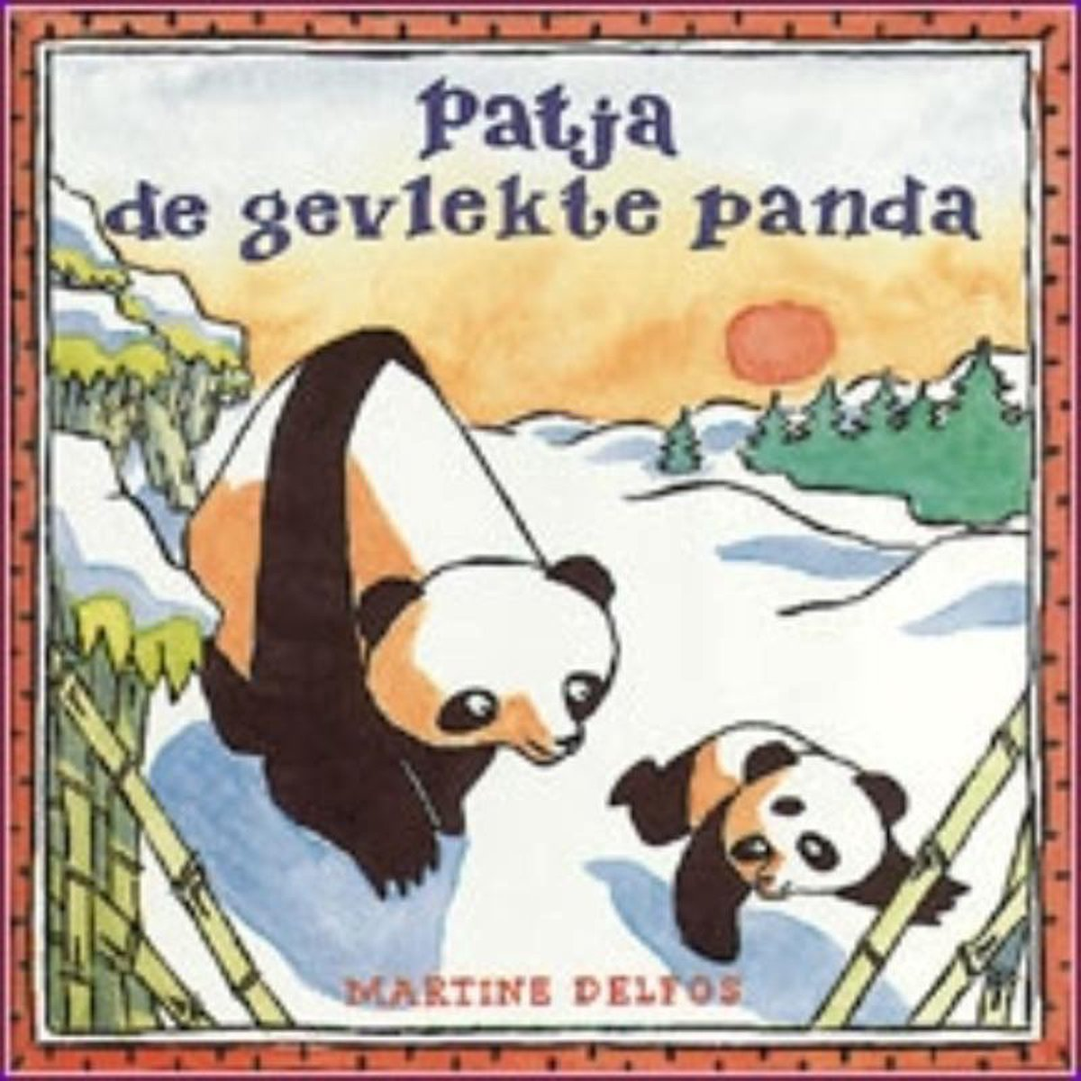 Patja de gevlekte panda - Martine Delfos