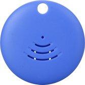 Reptrek® Voyage - sleutelhanger met bluetooth tracker - Zoek je tas, rugzak, fiets, sleutels, hond of kat met deze sleutelvinder / keyfinder (waterdicht, 80dB, vervangbare batterij), blauw