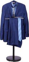 relaxdays Dressboy - kledingstandaard - design - standaard voor kleding - dress boy zwart