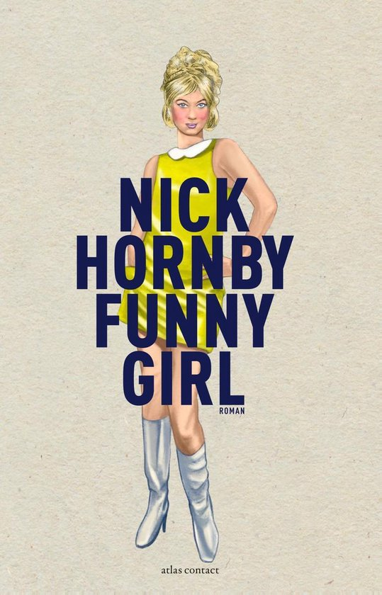 Boek cover Funny girl van Nick Hornby (Onbekend)