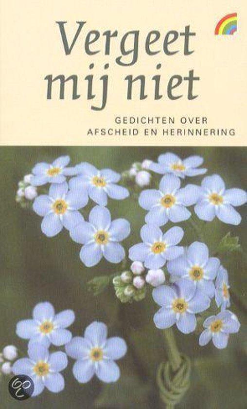 Vergeet mij niet - Judith Herzberg |