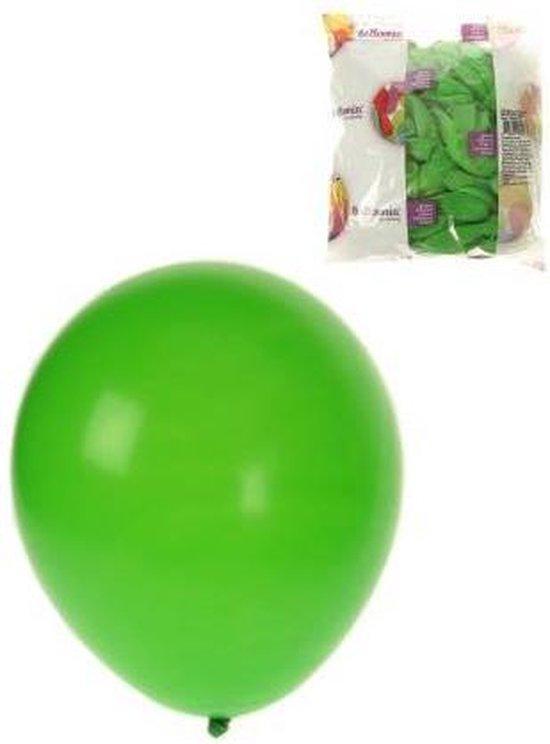 Helium ballonnen Groen 100 stuks