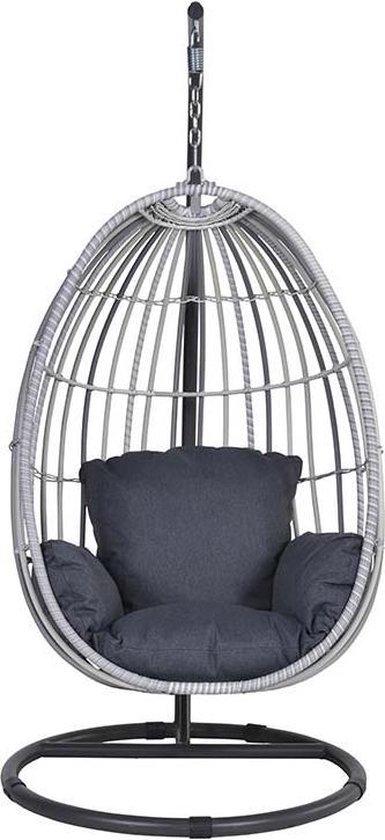 Hangstoel Zonder Frame.Bol Com Garden Impressions Panama Hangstoel Cloudy Grey