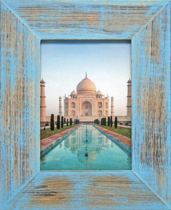Henzo India - Fotolijst - Fotomaat 10x15 cm Blauw