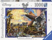 Ravensburger puzzel Disney The Lion King - Legpuzzel - 1000 stukjes