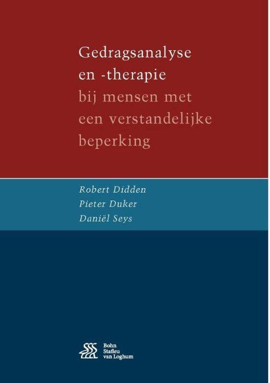 Gedragsanalyse en -therapie - Robert Didden  