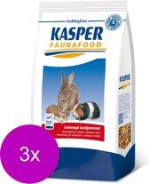 Kasper Faunafood Konijnenvoer Met Rode Wortel - Konijnenvoer - 3 x 3.5 kg Gemengd