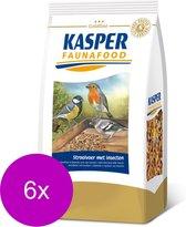 Kasper Faunafood Strooivoer - Voer - 6 x Insecten