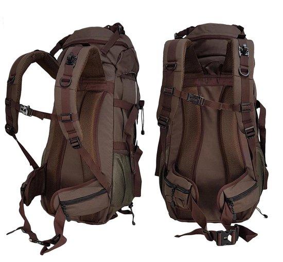 Beefree Backpack - Rugzak - Inclusief Regenhoes - 70 Liter - Zwart